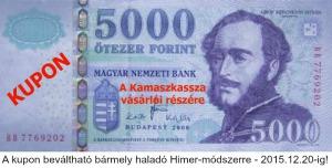 Kamaszkassza - Zsebpénzügyi kézikönyv - 5000 forintos kupon