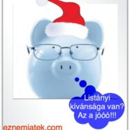 Karácsonyi pénzügyi nevelés – 1 rész