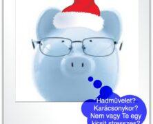 Karácsonyi pénzügyek 2 – Megoldások